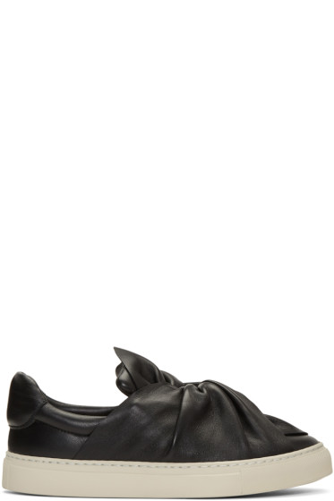 Ports 1961 - Black Bow Slip-On Sneakers