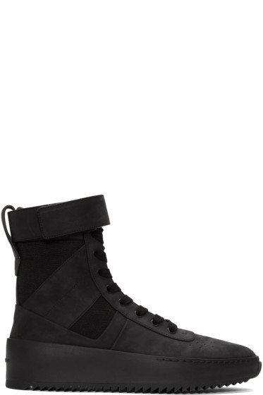 Fear of God - Black Military Sneakers