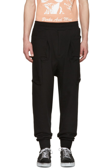 Perks and Mini - Black Utopia Duplo Lounge Pants