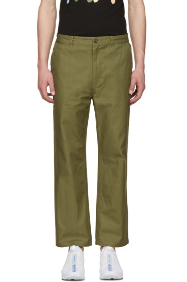 Perks and Mini - Green P.A.MTOPIA Chino Trousers