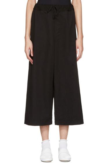 Tricot Comme des Garçons - Black Drawstring Trousers