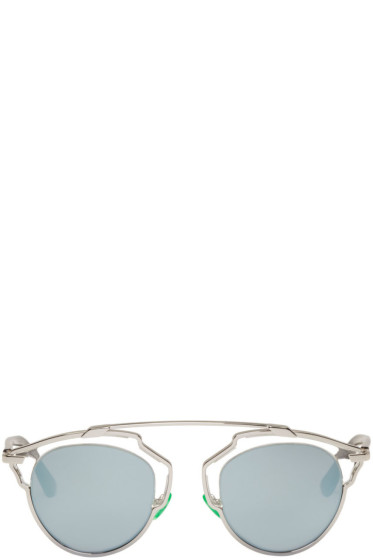 Dior - Silver So Real Sunglasses