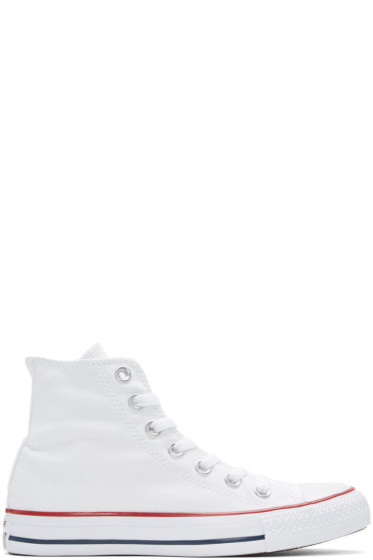 Converse - White Classic Chuck Taylor All Star OX High-Top Sneakers