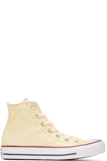 Converse - Off-White Classic Chuck Taylor All Star OX High-Top Sneakers
