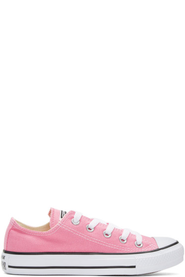 Converse - Pink Classic Chuck Taylor All Star OX Sneakers
