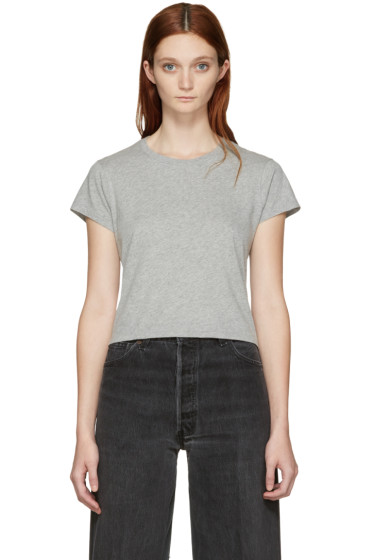 Re/Done - Grey 1950's Boxy T-Shirt