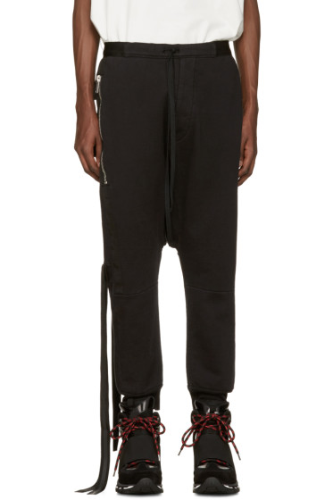 Unravel - Black Pockets  Lounge Pants