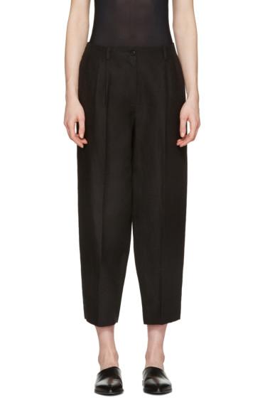 Nehera - Black Round Essential Trousers