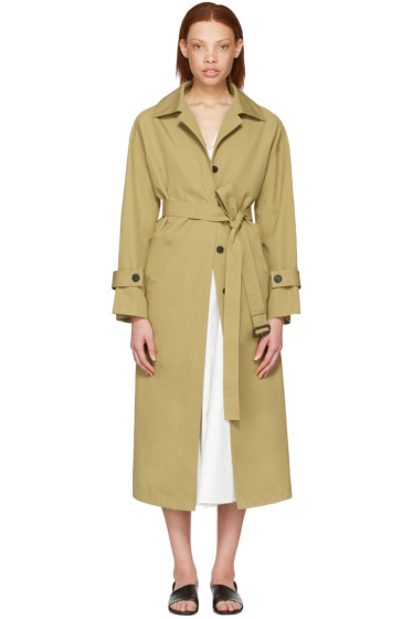 Cyclas - Khaki Oversized Trench Coat