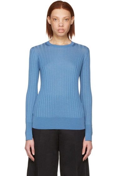 Cyclas - Blue Wide Rib Pullover