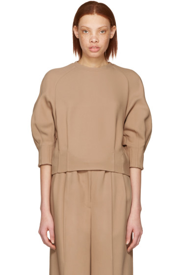 Cyclas - Beige Carrot Sleeve Pullover
