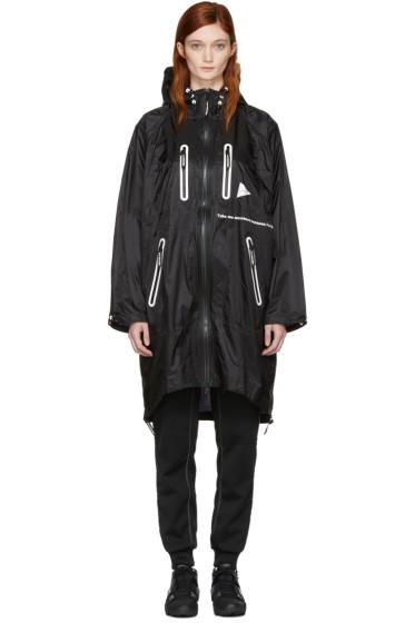 and Wander - Black Fly Coat