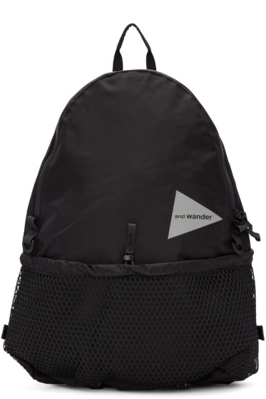 and Wander - Black 20L Daypack Backpack