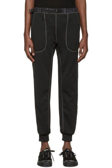 and Wander - Black Ponte Lounge Pants