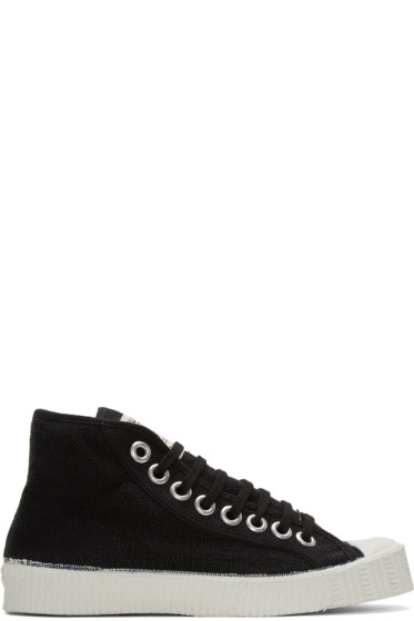 Spalwart - Black Special High-Top Sneakers