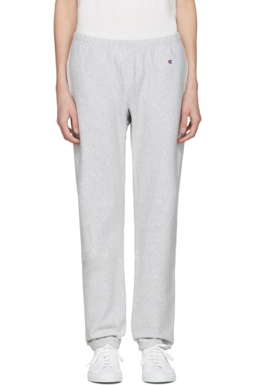 Champion Reverse Weave - Grey Warm Up Lounge Pants