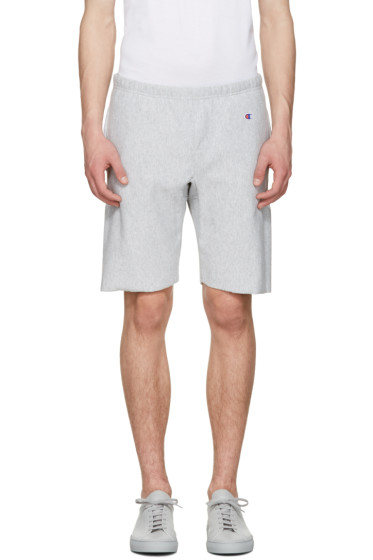 Champion Reverse Weave - Grey Warm Up Shorts