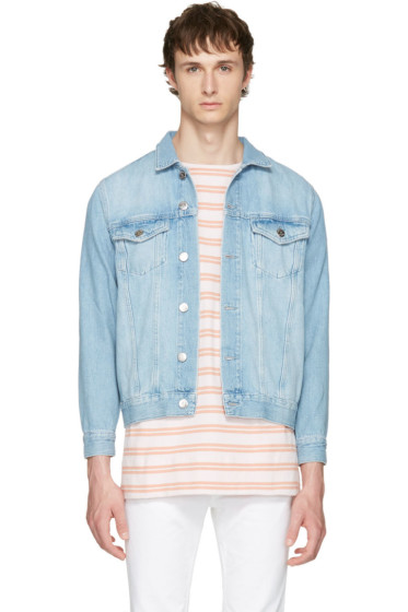 Han Kjobenhavn - Blue Denim Base Jacket