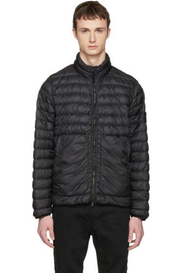 Stone Island - Black Down Packable Jacket