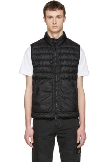 Stone Island - Black Down Packable Vest