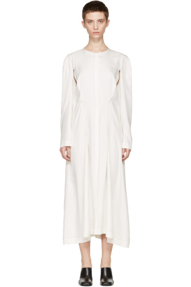 Eckhaus Latta - Off-White Duster Dress