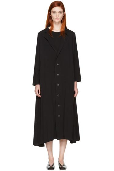 Nocturne #22 - Black Peaked Dress