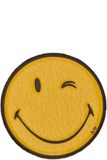 Anya Hindmarch - Yellow Wink Sticker
