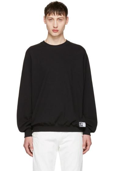 Richardson - Black Simple Sweatshirt