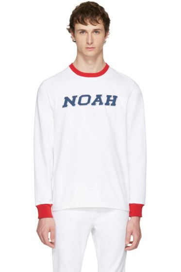 Noah NYC - Grey Training Ringer T-Shirt