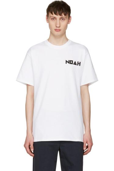 Noah NYC - White Jody Logo T-Shirt