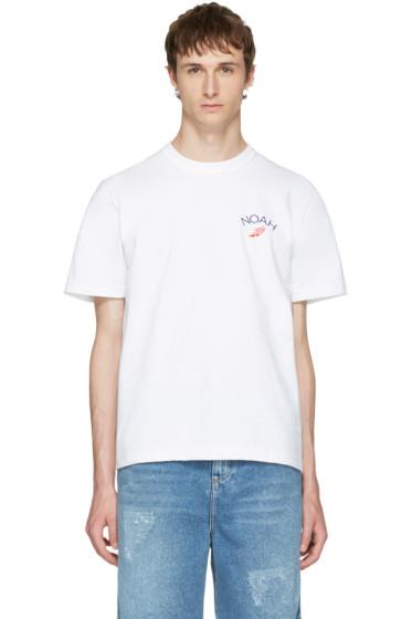 Noah NYC - White Wingfoot Practice T-Shirt