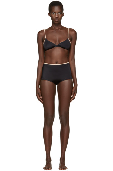 Solid & Striped - Black The Brigitte Bikini