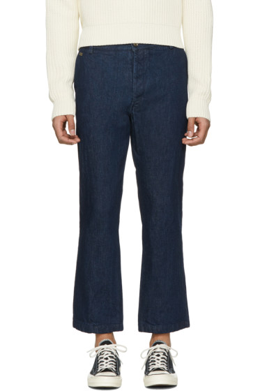 Missoni - Blue Denim Cropped Trousers