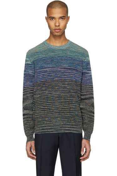 Missoni - Blue Knit Pullover