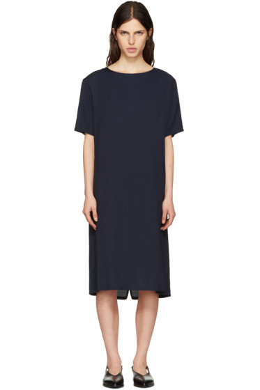Moderne - Navy Didion Dress