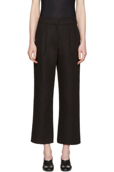 Moderne - Black Tuck Trousers