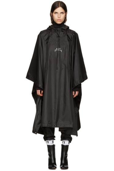 A-Cold-Wall* - Black Nylon Poncho