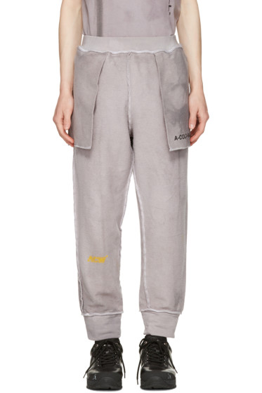 A-Cold-Wall* - Reversible Grey 'The Meeting of Textures' Seamline Lounge Pants