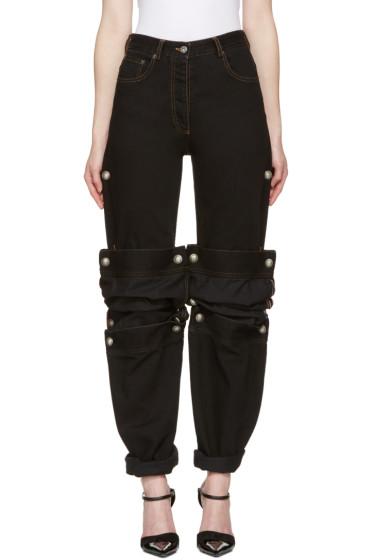 Y/Project - Black Cufflink Jeans
