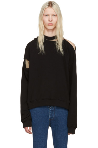 Y/Project - Black Slit Pullover