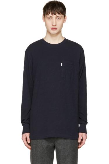 Aime Leon Dore - Navy Loose Pocket T-Shirt
