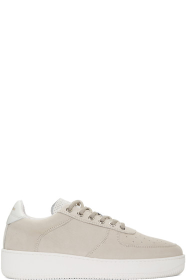 Aime Leon Dore - Grey Leather Sneakers