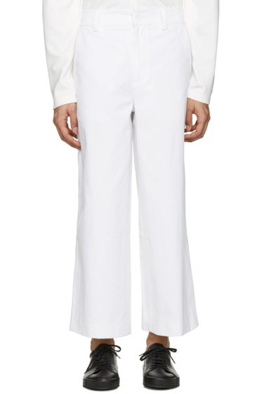 Rochambeau - White Jajouka Trousers
