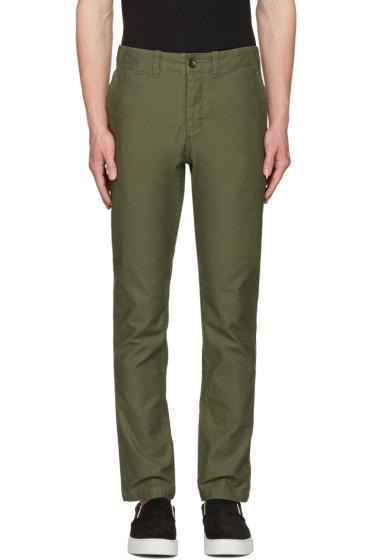 Saturdays NYC - Green Field Trousers