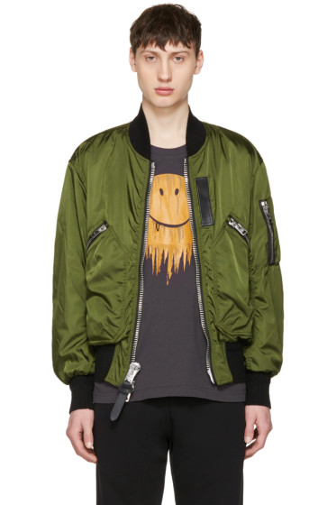 Coach 1941 - Green MA-1 Military Bomber Jacket