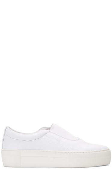Primury - White Leather Basal+ Sneakers