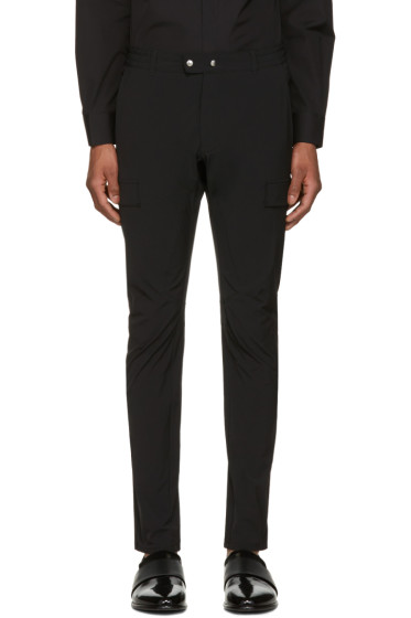 Philippe Dubuc - Black Cargo Trousers