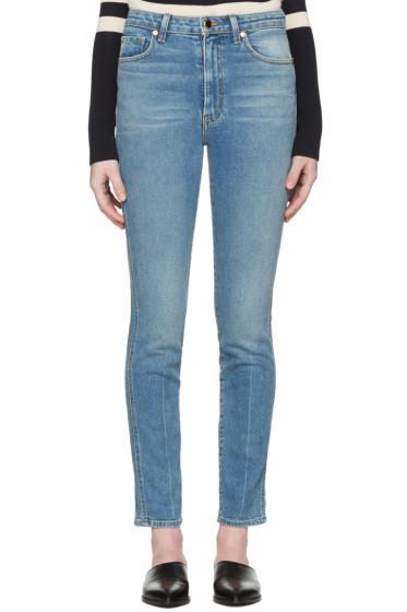 Khaite - Blue Vanessa Jeans