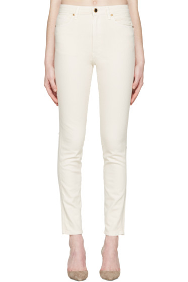 Khaite - Ivory Vanessa Jeans