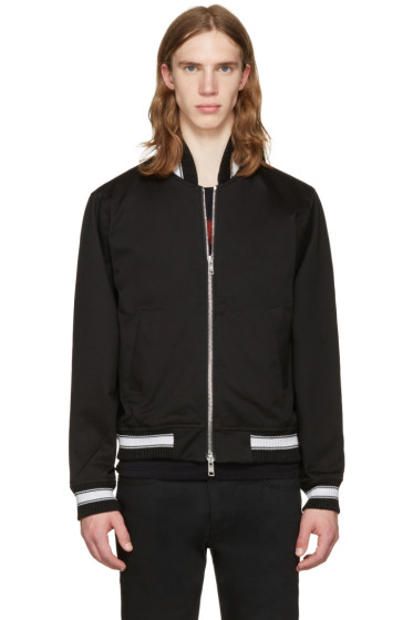 Herman - Black Cotton Bomber Jacket